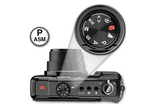 digital camera exposer