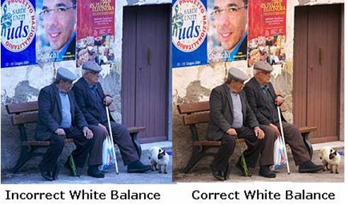 white balance - digital camera