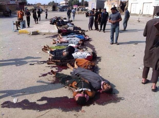 ISIS mass killing